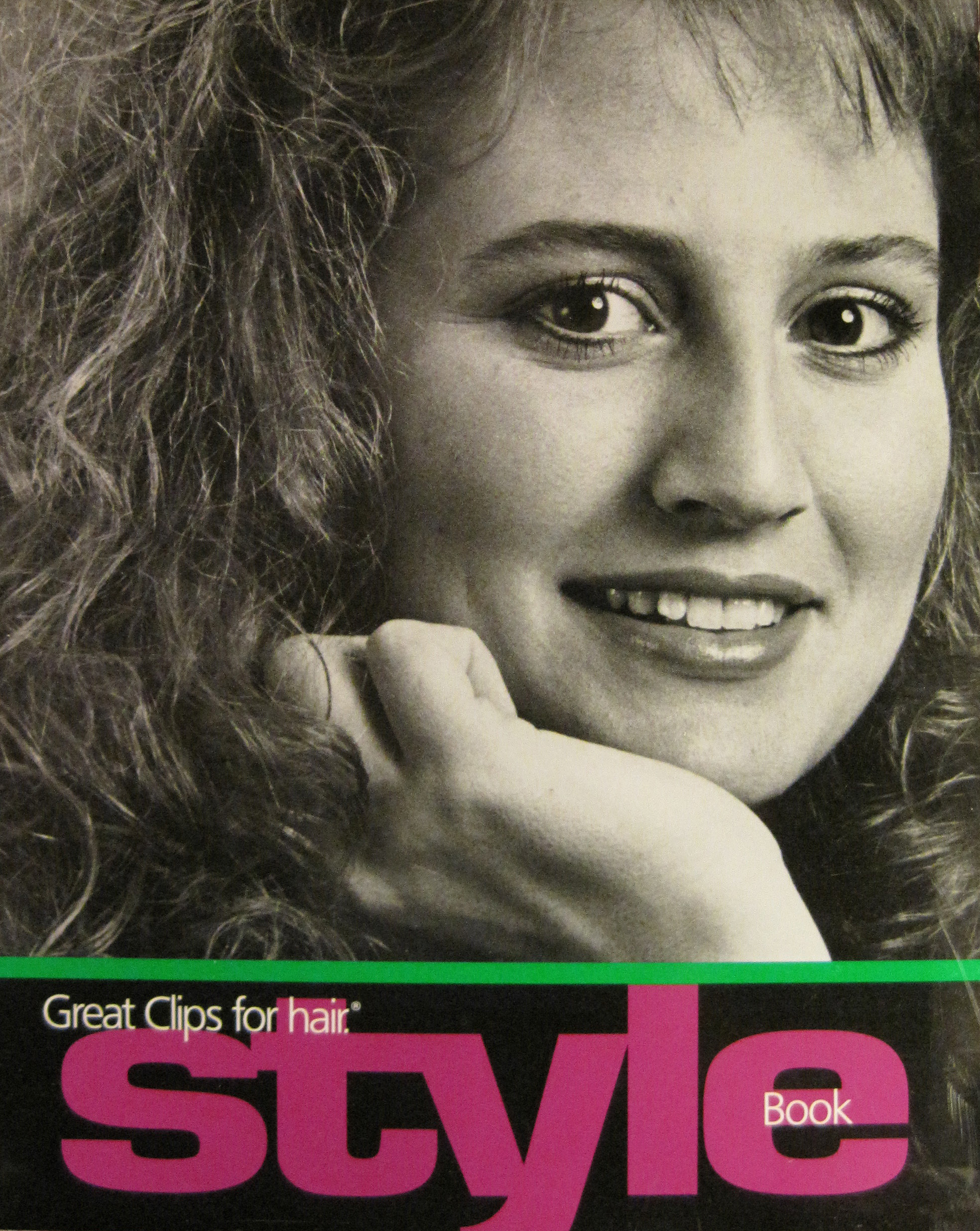 Great Clips style book cover